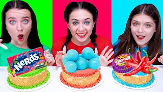 ASMR Cake Decorating Challenge | Eating Sounds LiLiBu #2