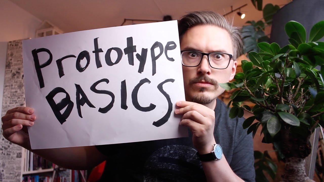 Prototype basics - Object Creation in JavaScript P3 - FunFunFunction #46