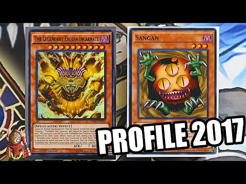 *YUGIOH* THE BEST! EXODIA DECK PROFILE! FT.SANGAN! NEW MARCH 31ST 2017 BANLIST! + COMBO TUTORIAL!