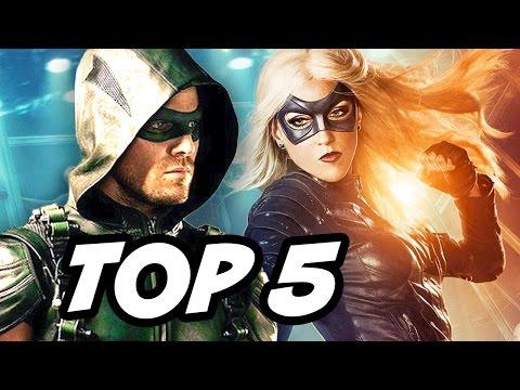 TOP 5 CRAZIEST Arrow Season 5 Black Canary Theories