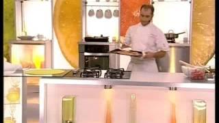 Телекафе.Пицца от итальянского повара  Стефано Уитти