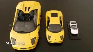 🚗  Diecast Car Models - Differences