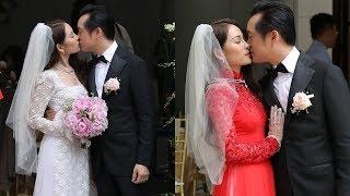 Dương Khắc Linh hôn đắm đuối Sara Lưu tại đám hỏi