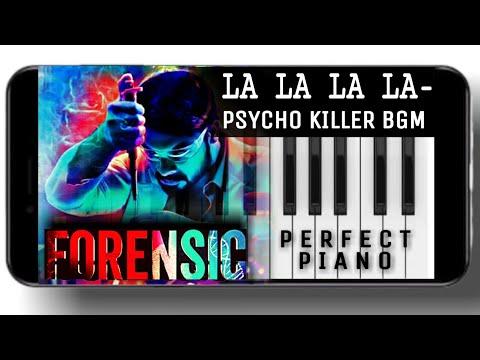 Forensic Psycho Bgm Piano Tutorial Notes La La La La Bgm Piano Malayalam Movie Songs Youtube