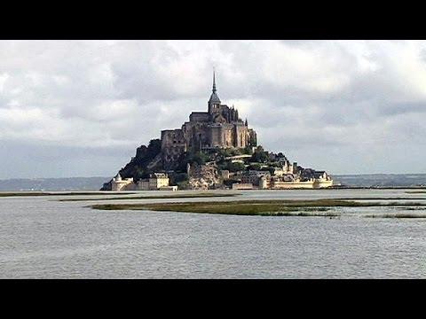 Comienza el espectáculo natural de cada año en el Mont Saint-Michel