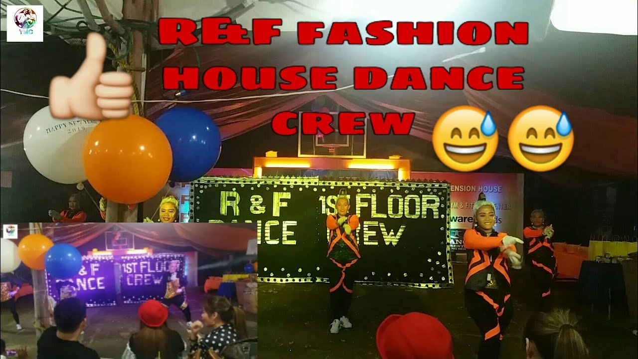 Vlog#60 R&f fashion house 1st floor dance crew. (2nd place ...