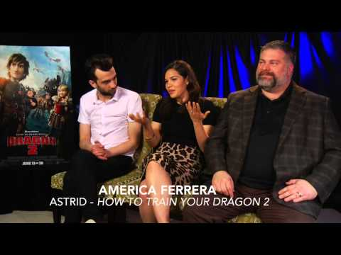 HOW TO TRAIN YOUR DRAGON 2 Interview Jay, America & director Dean DeBlois