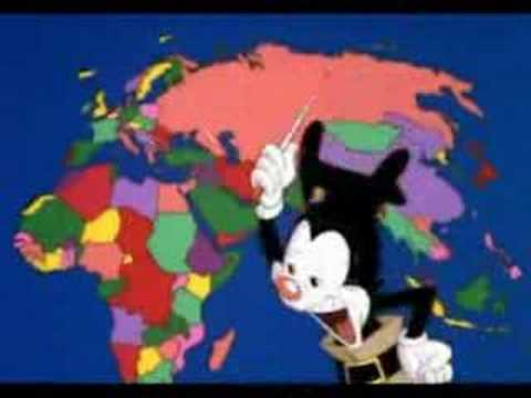 Animaniac's - Nations Of The World