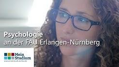 Psychologie studieren an der FAU Erlangen-Nürnberg