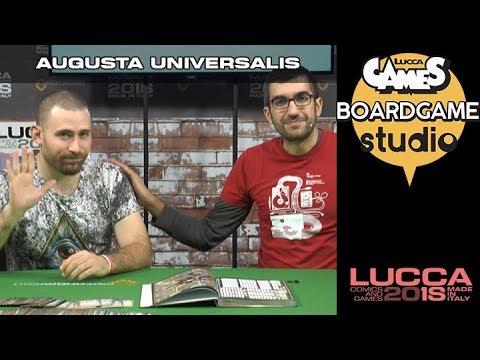 [Lucca Comics & Games] Boardgame studio: Augusta Universalis