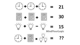 Clock Calculator Bulb Puzzle Answer   Clock Calculator and Light Puzzle Answer