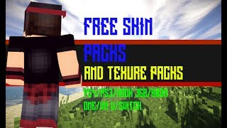 How Get All Skin Packs And Texture Packs Free