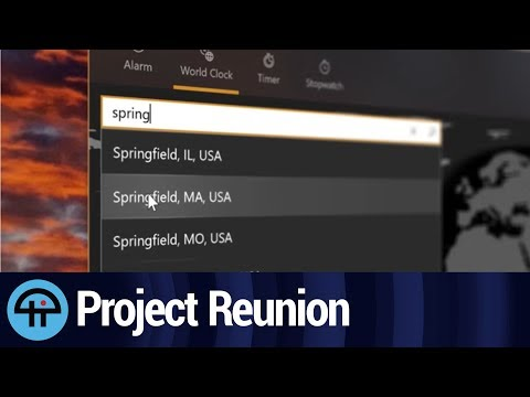 Project Reunion: Bringing Win32 and UWP Apps  to the Modern Age