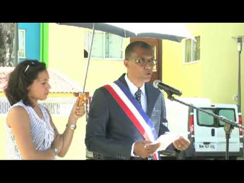 New Land tv vous PRESENTE  Mr Jacques BANGOU Maire de Poite-à-Pître en Guadeloupe L'inauguration de la résidences Sylvère Péricarpin du 1 mars 2013