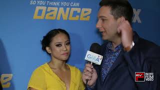 Hannahlei Cabanilla on Filipino support plus 3 fun questions #SYTYCD