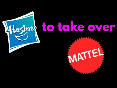 Hasbro to take over Mattel?!?!