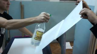 как правильно наклеить пленку(небольшое обучающие видео, как правильно наклеить самоклеющуюся пленку на пластиковую поверхность от..., 2013-11-06T20:49:23.000Z)