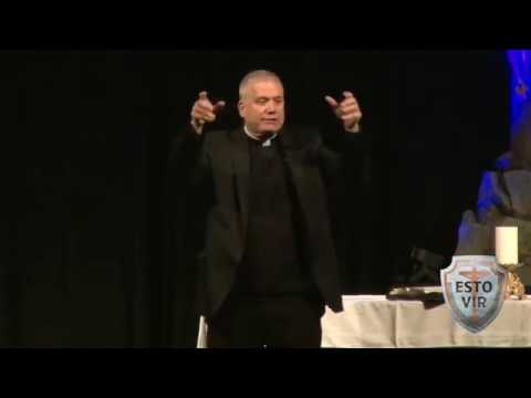 "Fr. Larry Richards - Talk 1 ""Be A Man"""