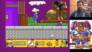 FATMAN: THE CAPED CONSUMER (Commodore Amiga) - Lamentable parodia... || MORRALLA CLÁSICA