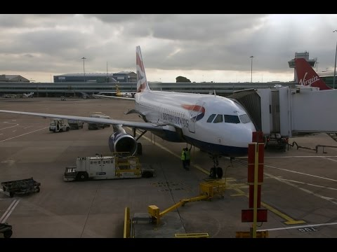 British Airways | Airbus A319 | MAN-LHR | Business UK