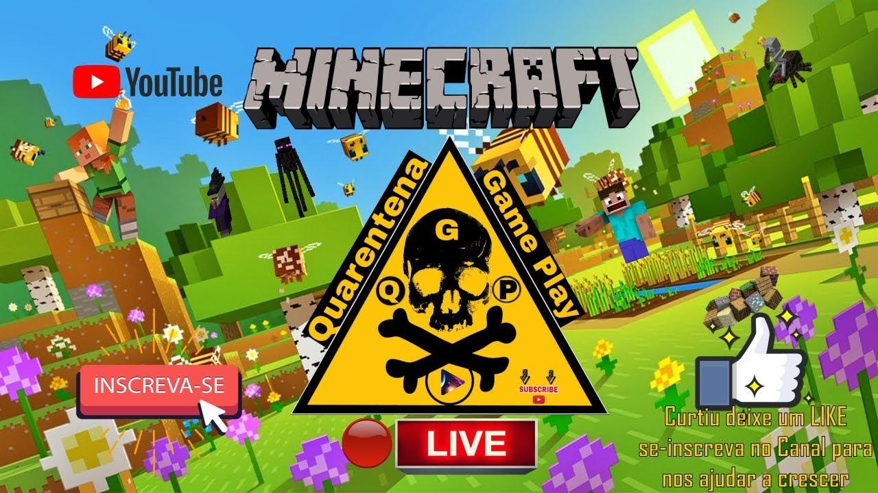 #Live Minecraft Brothers Adventure caçadores de Pilagers