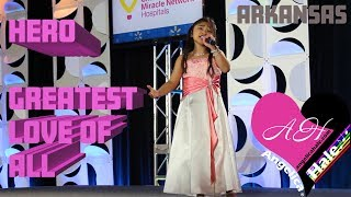 "Angelica Hale ""Hero"" & ""Greatest Love of All"" Complete Performance"