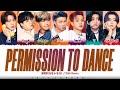 BTS - 'PERMISSION TO DANCE' (R\u0026B Remix) Lyrics [Color Coded_Eng]