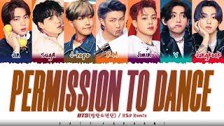 BTS - 'PERMISSION TO DANCE' (R&B Remix) Lyrics [Color Coded_Eng]