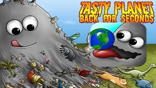 СЪЕДОБНАЯ ПЛАНЕТА Tasty Planet Мультик для детей про голодный Комок Игровое Видео