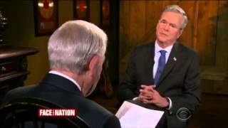 Jeb Bush on Face The Nation - May 31, 2015