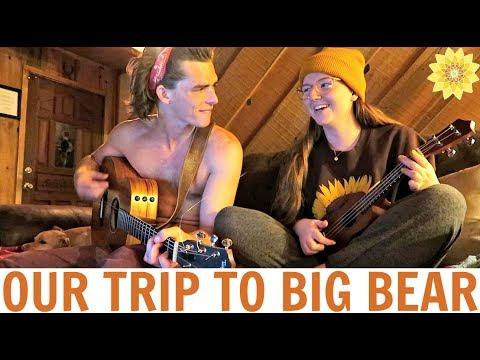 OUR TRIP TO BIG BEAR | FIN + MEG