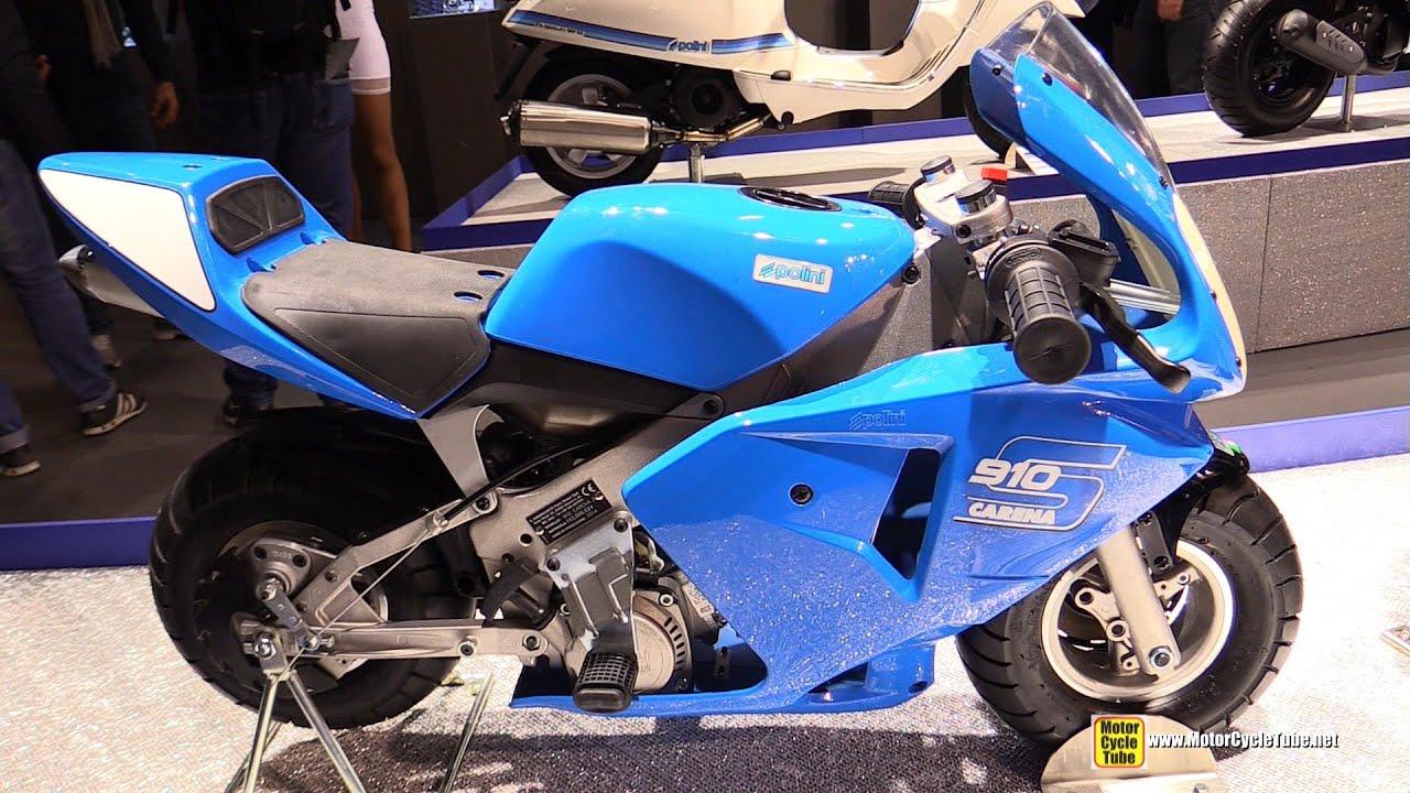 2015 Polini Minibike 910 Carena S 4.2hp   Walkaround   2014 EICMA Milan  Motorcycle Exhibition   YouTube