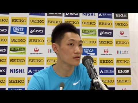 Goldengrandprix Men LJ : Jianan WANG (CHN)