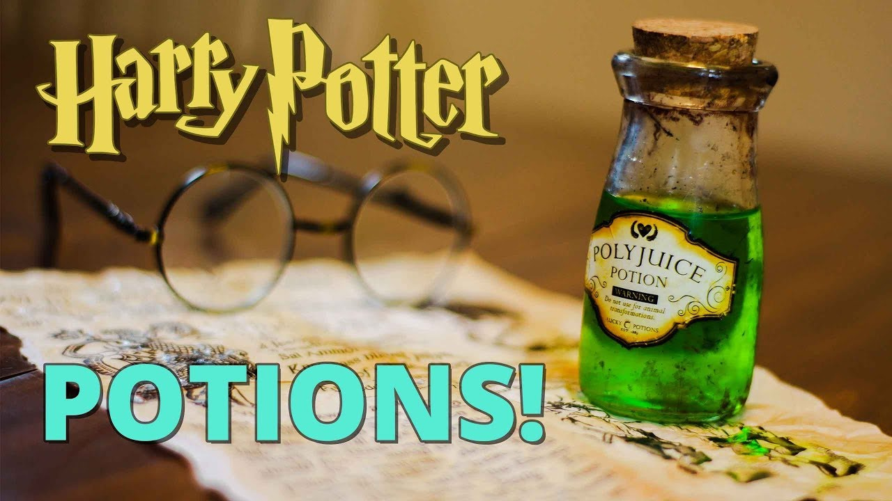 Diy Harry Potter Potion Bottles