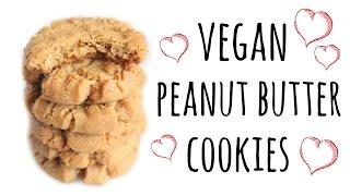 Easy Vegan Peanut Butter Cookie Recipe