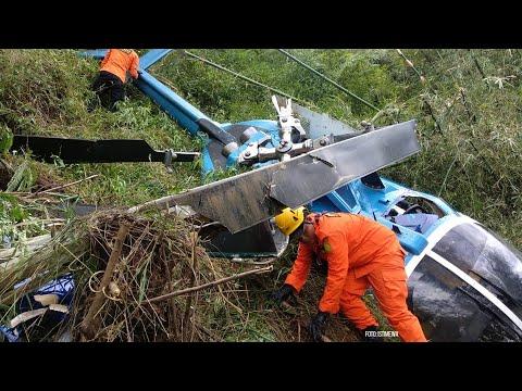 BREAKING NEWS: Helikopter Jatuh di Tasikmalaya, 4 Penumpang Jadi Korban