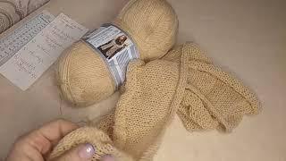 Рандомное вязание.2 неделя