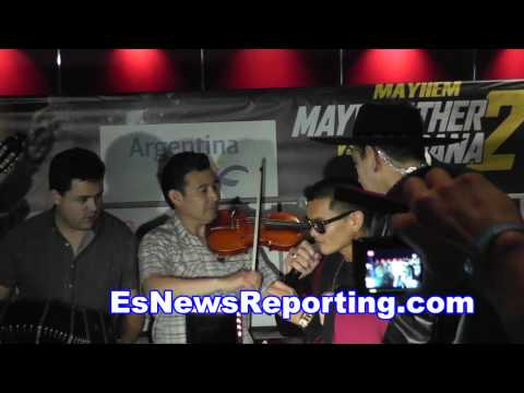 marcos maidana with famous argentinian singer - EsNews boxing