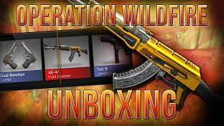 OPERATION WILDFIRE UNBOXING + NEW OPERATION