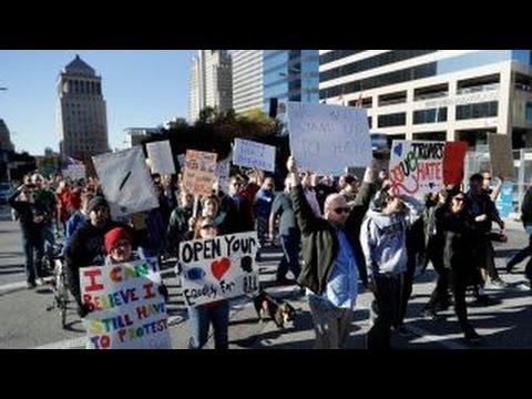 Fmr. Sen. Bob Dole on anti-Trump protests
