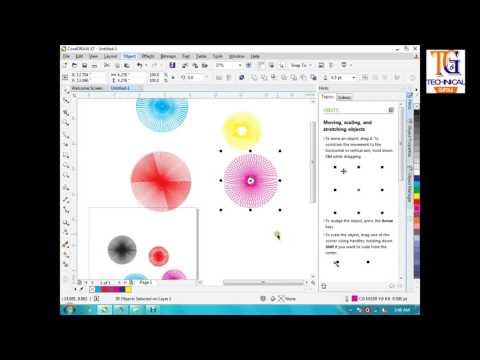 Corel Draw x7( Create your own designs) in Hindi