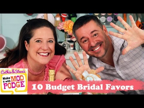 10 DIY Budget Bridal Wedding Favors