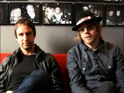 The Rifles 2009 interview - Joel Stoker en Luke Crowther (part 4)