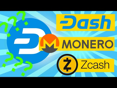 Thoughts On Privacy Coins Like Dash Monero And Zcash And DASH Price Prediction!!!