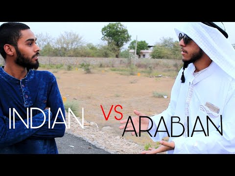 Arabian vs indian | if arabs came to india | most funny video
