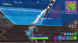 PLAYING FORTNITE AND NEW UPDATE, SKIN TAQUILLAZO , PLAYING WITH DUALSHOCK