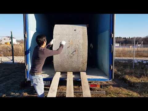 Кольца для колодца из легкого бетона ПСФБ