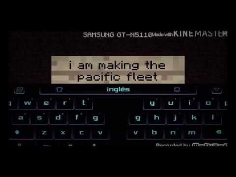 Pacific fleet game play series advice  :)