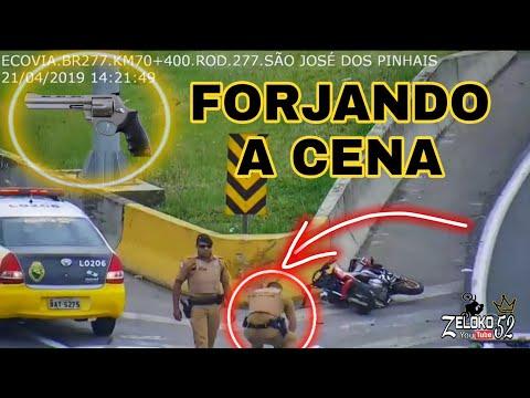 Caso #Léo Do Grau Policial Colocando Arma