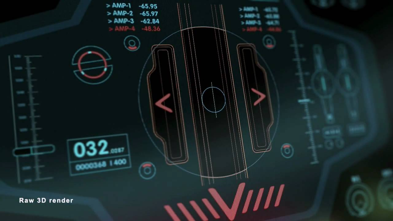 3d Hologram Wallpaper Gif The Void Gui User Interface Making Of Sci Fi Movie